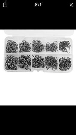 Fishing Hooks - Fish Hooks - 500pcs/set Mixed Size 3-12 High