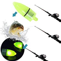 Forfar Fishing Light 10Pcs Portable Fishing Rod_Tip LED Ligh