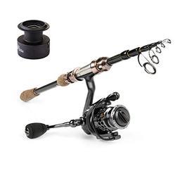 YONGZHI Fishing Pole-Telescopic Travel Fishing Rod-Ultraligh