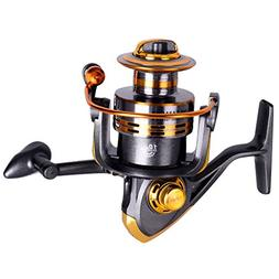 Lifelj Fishing Reel 10 Ball Bearing Spinning Reel Spinning F