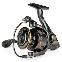 Sougayilang Fishing Reel, Light Smooth Bass Gear Spinning Ca