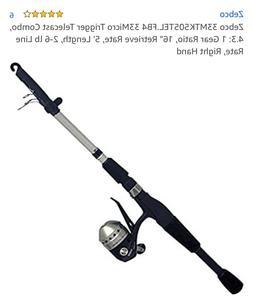 Fishing Rod ZEBCO 33 MICRO TRIGGERSPIN 5' TELESCOPIC COMBO Z