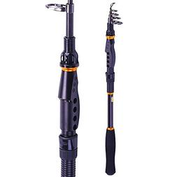 YunFish Fishing Rod - 24 Ton Carbon Fiber, Portable Telescop