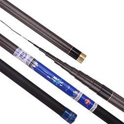 YROD Fishing Rod, Ultralight Super Hard Telescopic Sea Rock