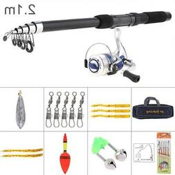 Fishing Rod and Reel Combo Kit Spinning Reel Gear Organizer