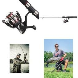 Fishing Rod and Reel Combo Spinning Pole Fresh Water Spin Ge
