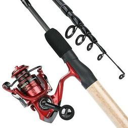 YONGZHI Fishing Rod and Reel Combos,2-Piece Carbon Fiber Pro