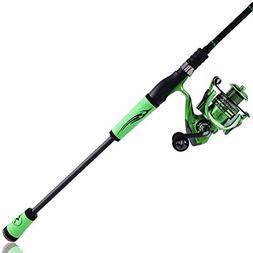 Sougayilang Fishing Rod and Reel Combos,?High Grade Carbon F