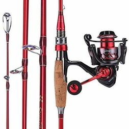 Sougayilang Fishing Rod And Reel Combos, Lightweight Carbon