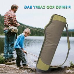 Fishing Rod Bag Case Fishing Pole Tackle Storage Bag Fishing