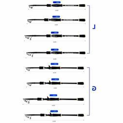 Fishing Rod Black Carbon Fiber Fish Tackle Retractable Porta