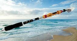 Telescopic Fishing Rod - Carbon Fiber 1.8m - Retractable T
