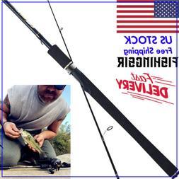 FISHINGSIR Fishing Rod Carbon Fiber Casting Spinning Rod Sal