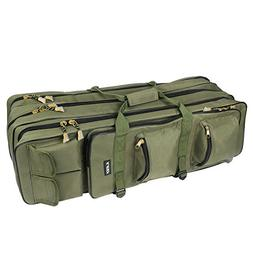 Fishing Rod Carrier Bag 31.5-Inch Portable Waterproof Canvas