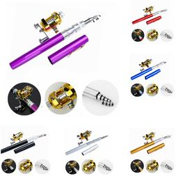 Fishing Rod New Mini Pocket Size Portable Alloy Travel Teles