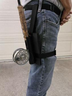 Fishing Rod / Pole Holster/ Holder Belt Loop Strap On Leg al