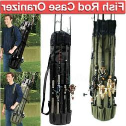 Fishing Rod Pole Reel Tackle Accessories Storage Shoulder Ca