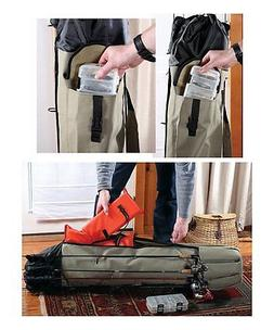 Fishing Rod Pole Reel Tackle Tools Gear Carry Case Organizer