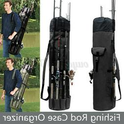 Fishing Rod Pole Reel Tacle Accessories Storage Shoulder Bag
