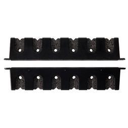 Berkley Black Horizontal Rod Rack