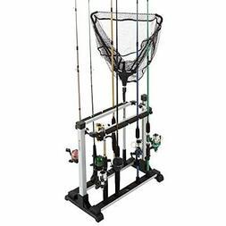 Wakeman Fishing Rod Rack- Aluminum Freestanding Floor Storag