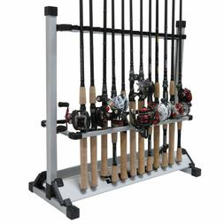 Fishing Rod Rack - Fishing Rod Holder Storage Aluminum Holds
