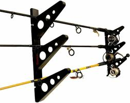 The Fishing Rod Rack | Multi-tiered Fishing Wall Storage | S