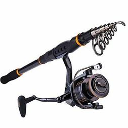 Sougayilang Fishing Rod Reel Combos, Collapsible Telescopic