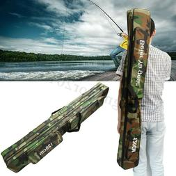 Fishing Rod Reel Case Bag Organizer Travel Carry Case Carrie