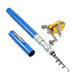 Lixada Fishing Rod Reel Combo Kit Set Mini Telescopic Portab