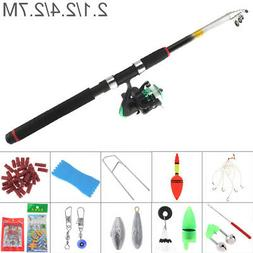 fishing rod reel line combo full kits