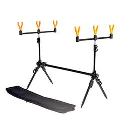 Lixada Fishing Rod Stand Adjustable Retractable Carp Fishing