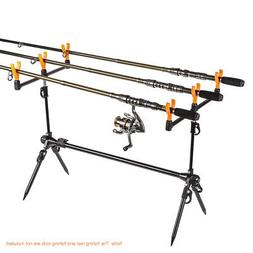 Fishing Rod Stand Holder Steel Fishing Pole Pod Mount Holder