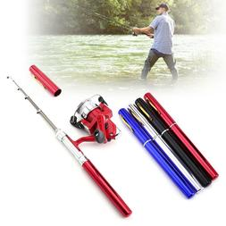 Fishing Rod Telescopic Mini Portable Pocket Fish Aluminum Al