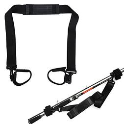 Fishing Rod Trackle Straps Belt - Fishing Rod Pole Carry Str