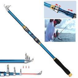 Fishing Rod Ultralight Carbon Fiber Telescopic Portable Sea