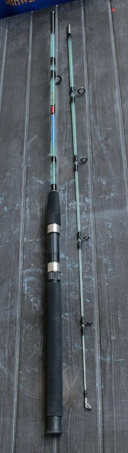 "Fishing Spinning Rod - 6' 10"" FT. Solid Fiberglass - 15 / 25"