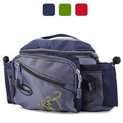 Sougayilang Fishing Tackle Bag Outdoor Waist Bags