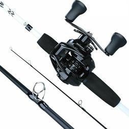 Fishing Tackle Bait Casting Rod Reel Combo Beach Ocean River