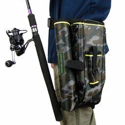 Fishing Waist Bag Rod Reel Storage Tackle Shoulder Leg Lure