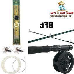 Fly Fishing Combo Kit Rod And Reel Combos Camping Fishing Ge