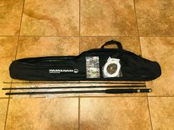 Fly Fishing Combo Kit with Carry Bag Wakeman Outdoors Black