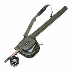 Fly Fishing Rod Bag Tube Rod Storage Case Fly Rod and Reel C