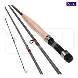 Fly-Fishing Rod, Fast Action, 9ft, 5wt, 4 sections, Carbon F