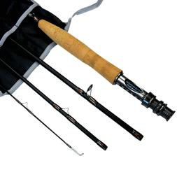 Fly rod Fly Fishing Rod Graphite Medium Fast 8'ft 9'ft 3/4 5
