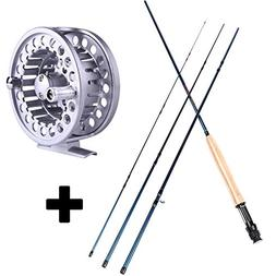 Sougayilang Fly Fishing Rod and Reel Combos Lightweight Ultr