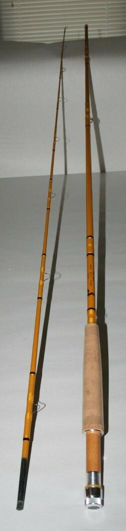 Eagle Claw Fly Fishing Spin Rod Honey Gold Paint Cork Handle
