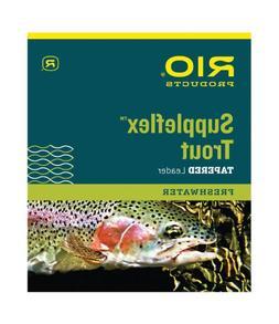 Rio Fly Fishing Supple Flex-Trout 9' 5X-Leaders Fishing Lead