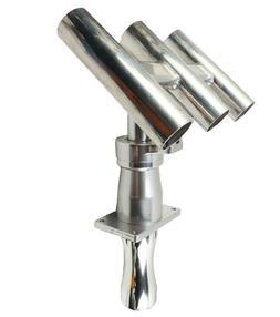 Folding Triple Rocket Launcher 12V Electric 3 Pole Fishing R