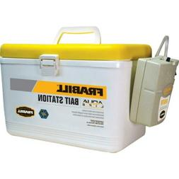 Frabill Bait Box with Aerator, 8 qt